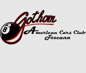 logo Gotham American cars club Toscana